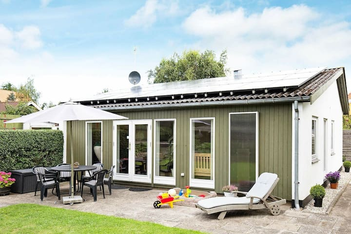 Modern Holiday Home in Vejby Denmark with Terrace