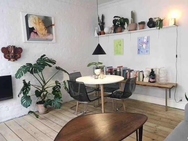 Cozy flat in central Copenhagen