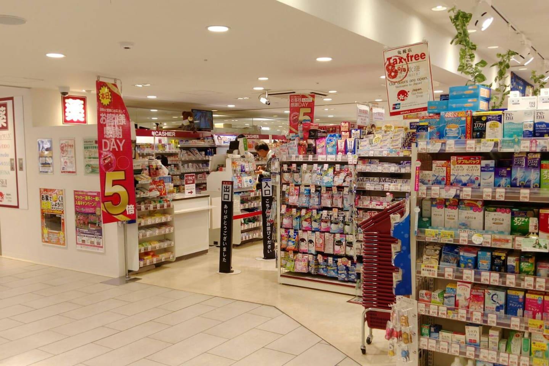 新大阪站内Kokumin药妆店 Drugstore Kokumin in Shin-Osaka Station
