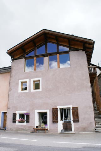 Front of the chalet