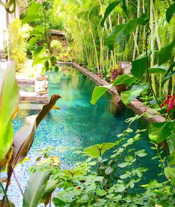 Poolside Garden Suite Mānoa Mansion - Honolulu