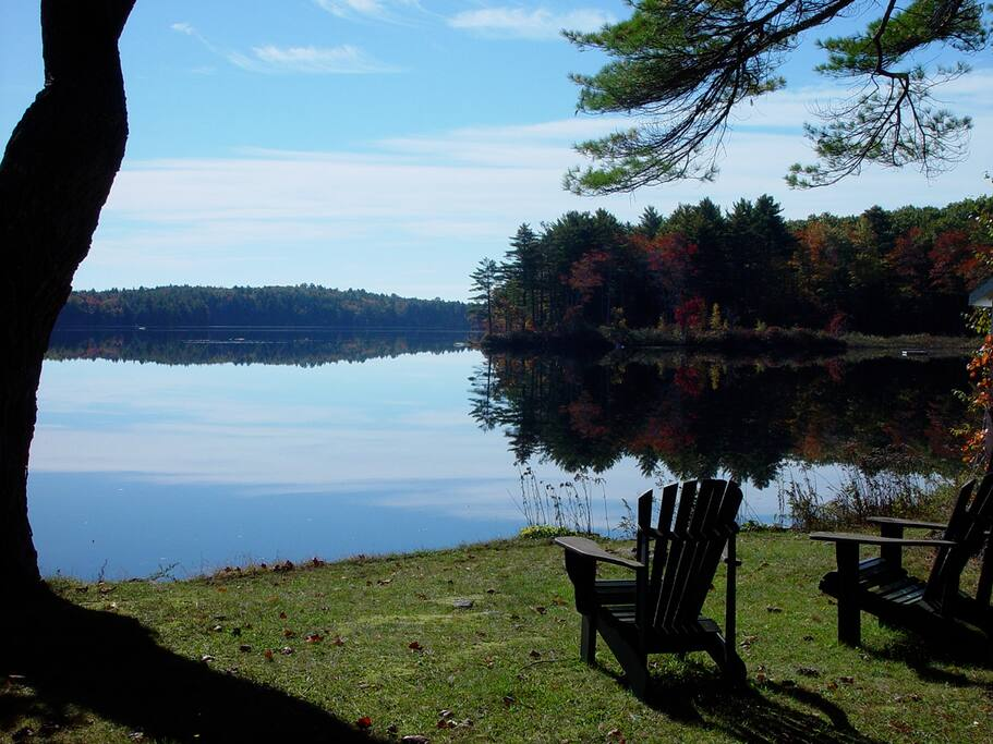 McCurdy Pond is one of the loveliest and quietest in all of Maine.