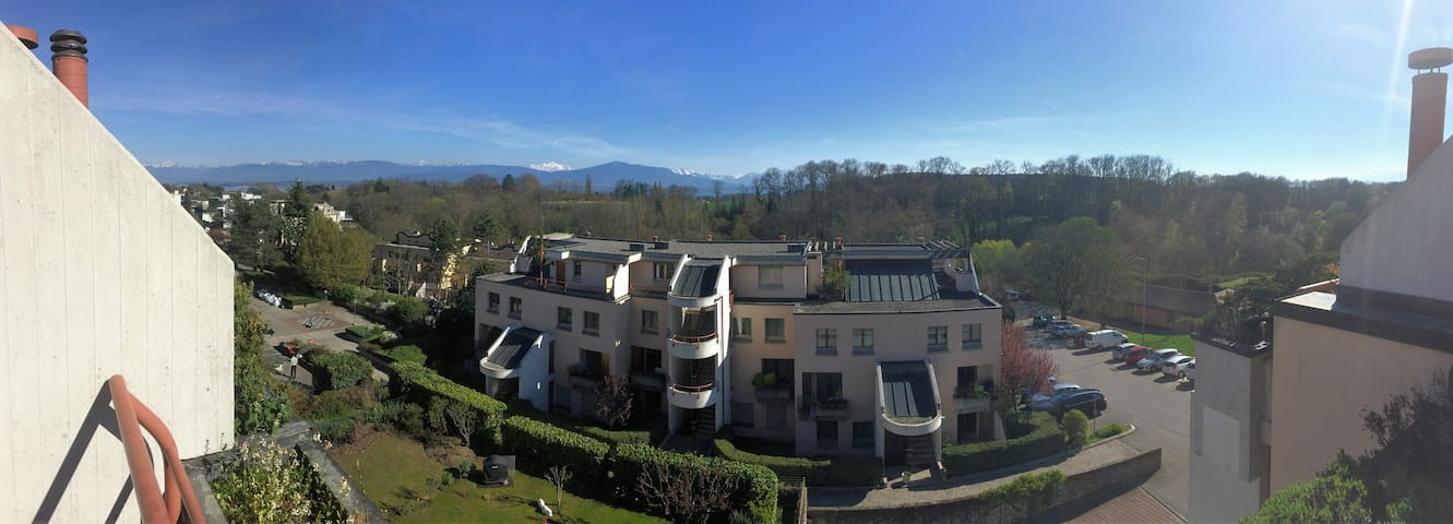Top Floor Studio in Nyon - Nyon - Apartment