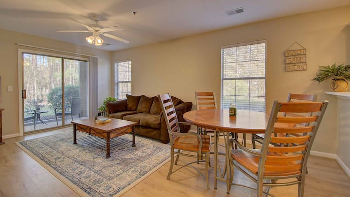 Enjoy Fairwinds and Fairways in this 1st Floor Condo overlooking the 1st Hole