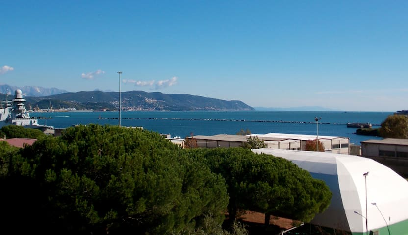 Amazing sea view on gulf of poets - La Spezia - Apartamento
