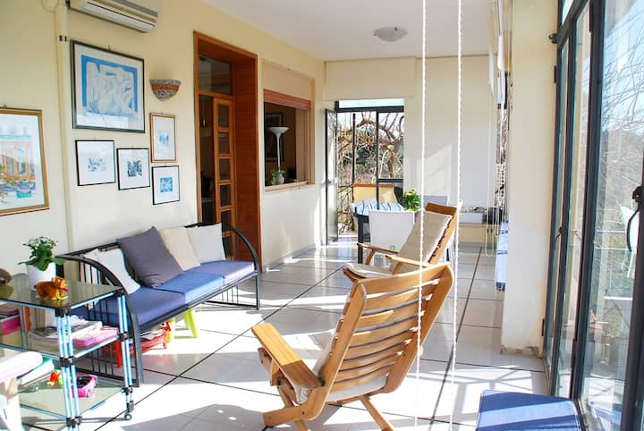 Apartment with 2 bedrooms in Porto Palo, with wonderful sea view and furnished terrace