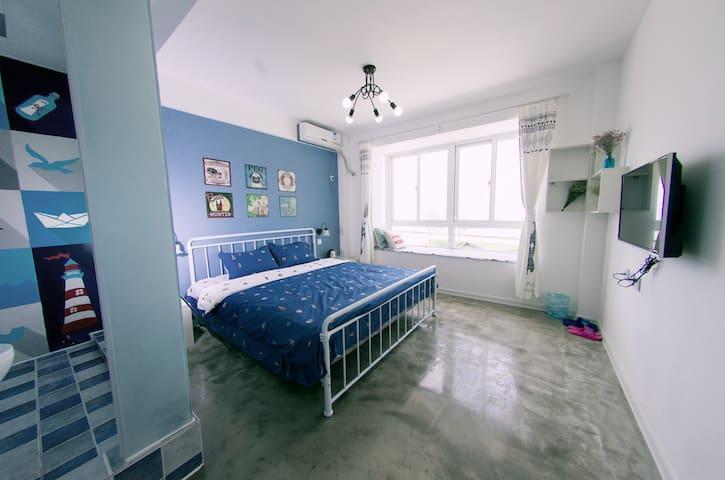 观海大床房 - Weihai - Apartament