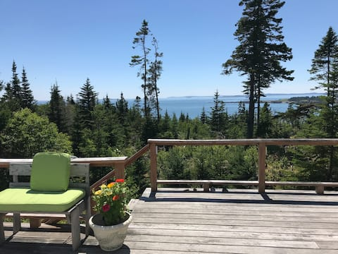 Secluded ocean front home, 30+ acres, 300' shore
