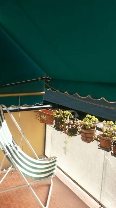 Il terrazzo di Casa della Nonna