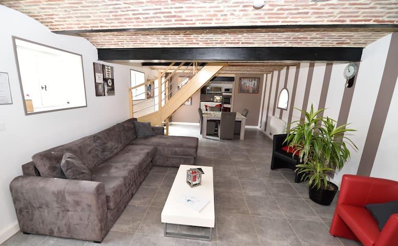La Fattoria Gite ROME  4-6 personnes - Richebourg - House
