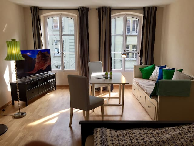 Spacious Sunny Room, Heart of Old Town - Bern - Pension