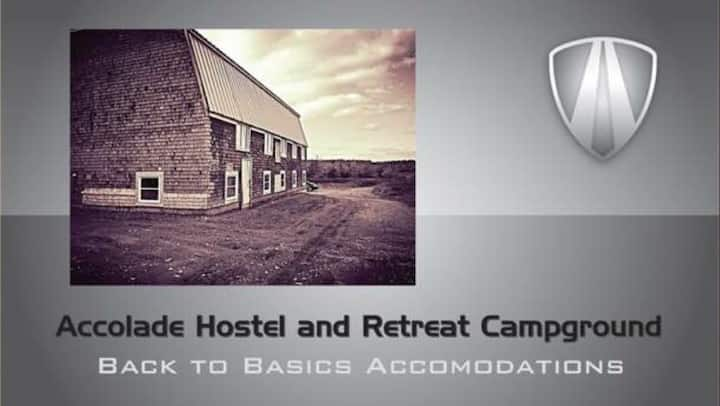Accolade Hostel Retreat Campground (Room 1; Bed A)