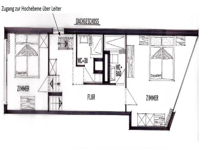Center Communal / Herrmann, (Laax Dorf), 217, 3.5 room apartment