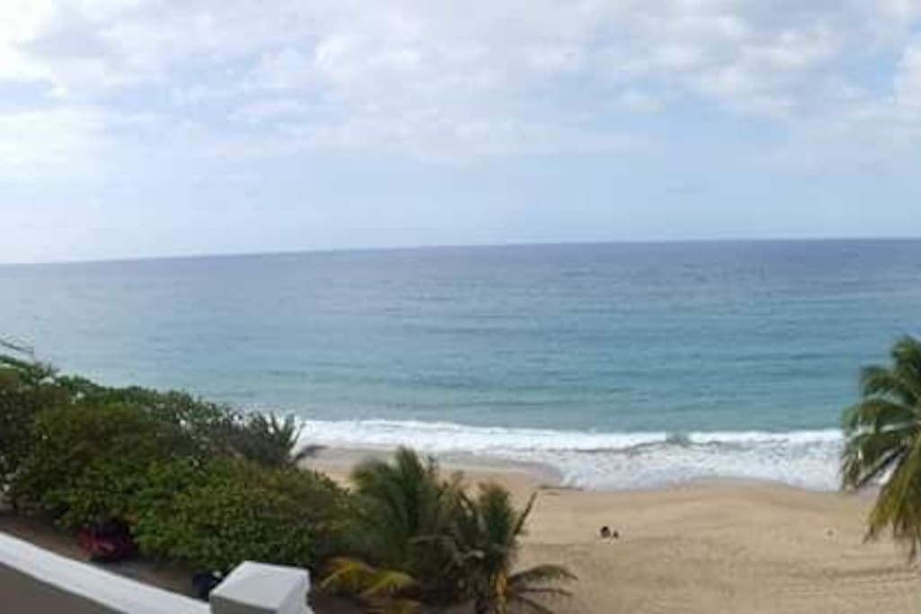 The view from our balcony