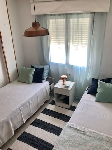 Bright double bedroom in the heart of Ibiza Town