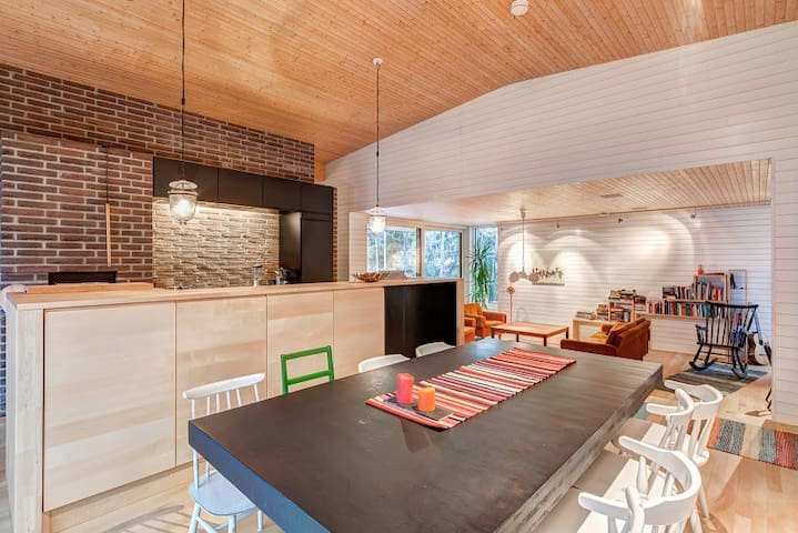 Peaceful, modern, well-located house in Espoo - Espoo - Maison