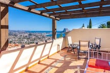 LUIS, villa for 10 guests with panoramic views in Calp