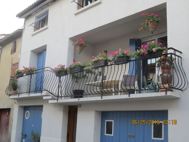 LE BALCON - Sainte-Colombe-sur-l'Hers - Appartement