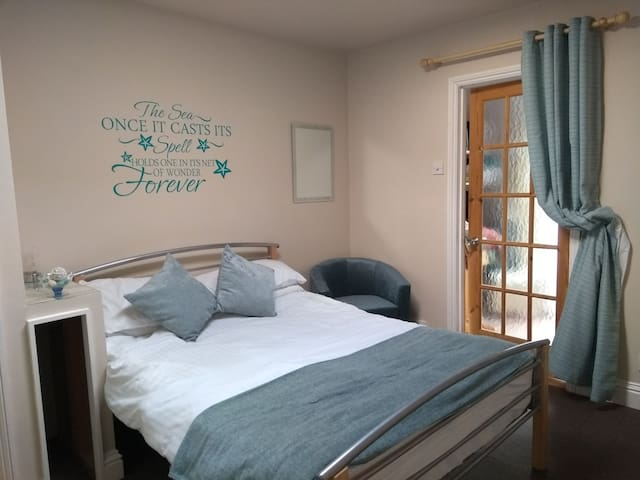 Double bedroom with shower room.