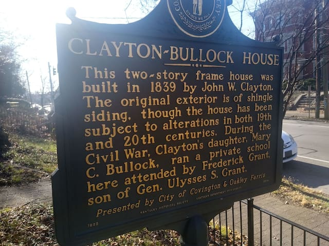 Stay at the Historic Clayton-Bullock House!!