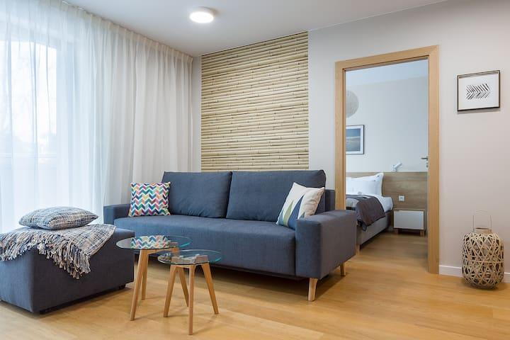 Wczasowa 2c Apartament 41 A Deluxe dla 4 osób