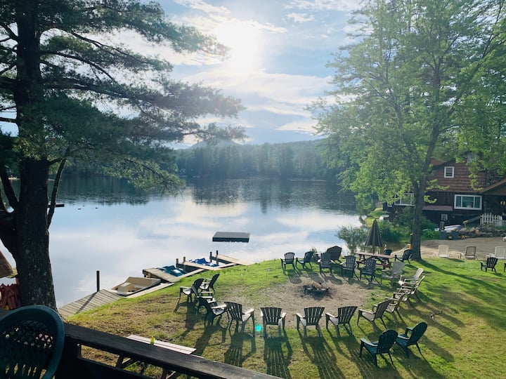 Cabin on the Lake for 2 people | All Amenities #B