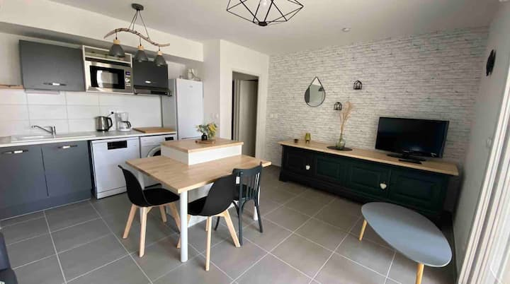 Joli Appart' Cosy 🐠 Neuf☀️ Valras-Plage 🏖 2-4 pers