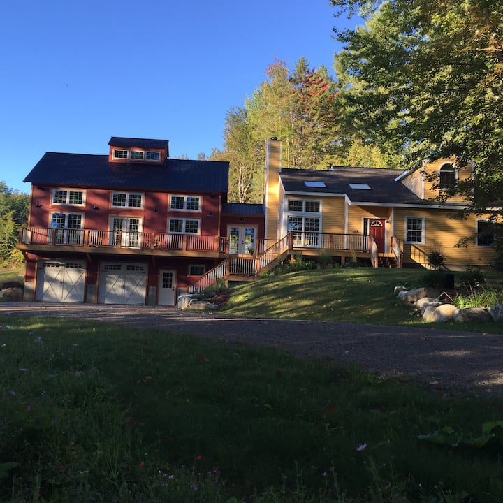 Beautiful Vermont home & barn, 10 mins to Stratton