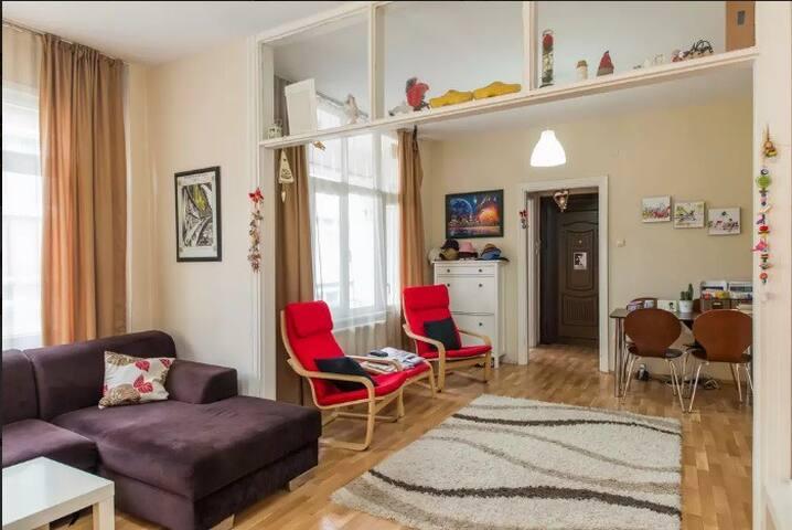 Lovely flat in Kuzguncuk / Uskudar Istanbul