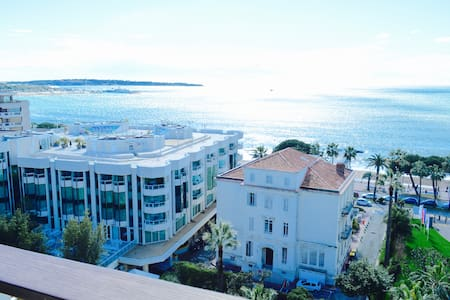Sea view STUDIO on the CROISETTE + Parking - Cannes - Apartment