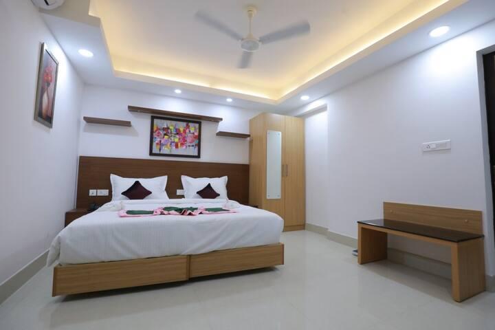 Premium Room at Swades Myhome Dharmalayam Road Nr Ayurveda College Manjalikulam Thiruvananthapuram Kerala III