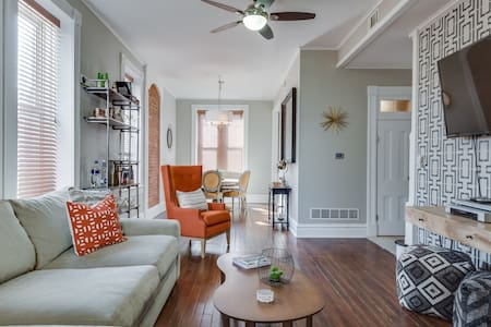 Chic Loft-Style Carriage House - St Louis - Talo