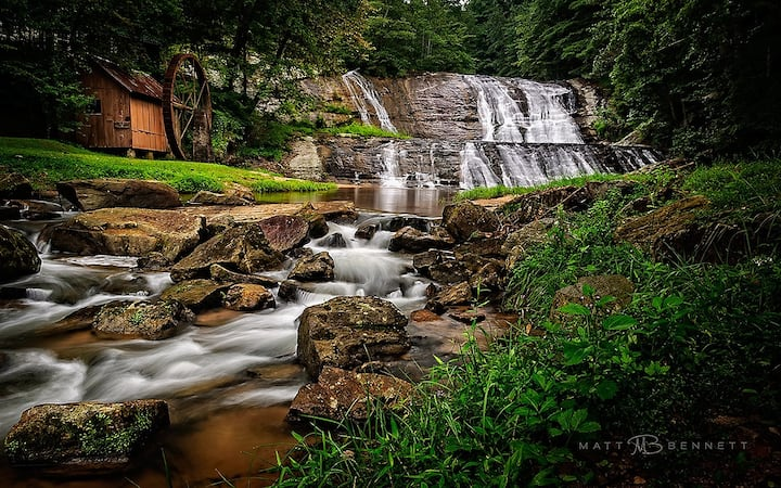 Moravian Falls RV in peaceful mountain setting