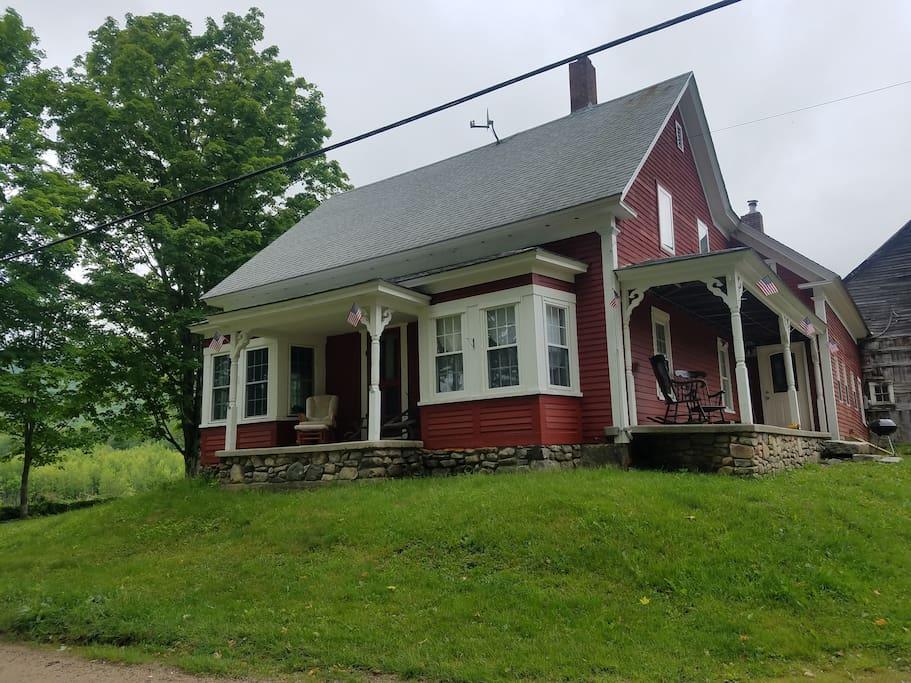 New Hampshire Farm House