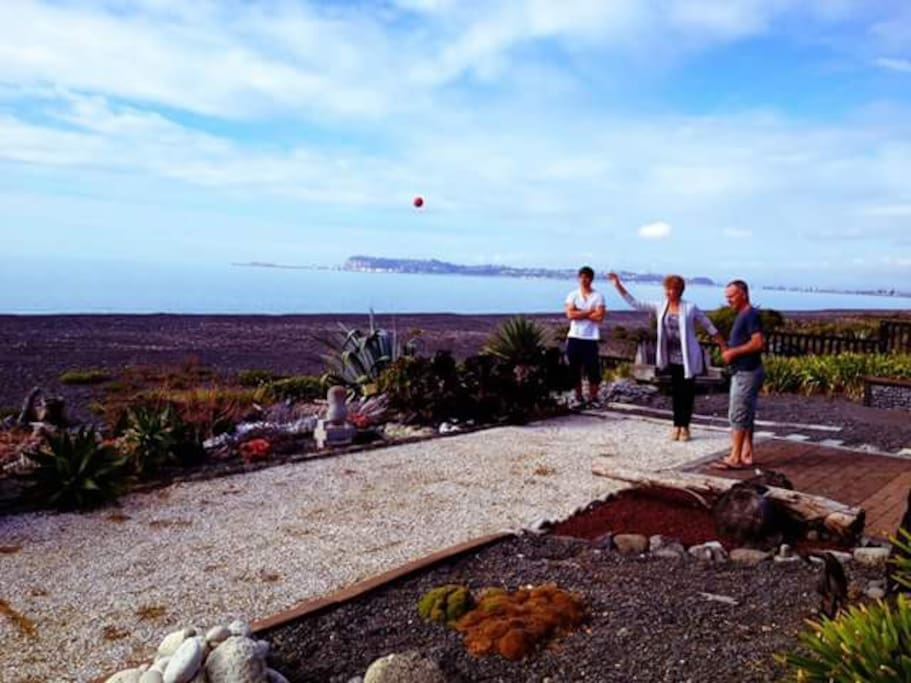 Try a game of Petanque