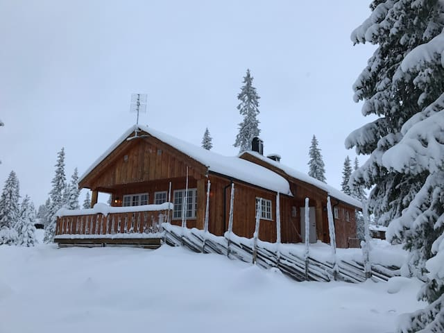 Cozy family cabin in winter wonderland - Sjusjøen