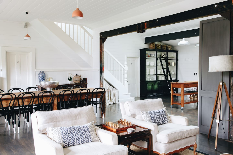 Stylish, designer interiors.