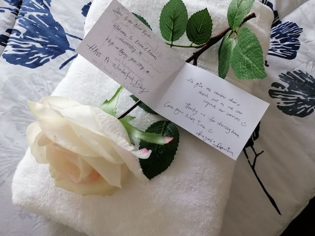 Warm welcome Note from our Homestay to you