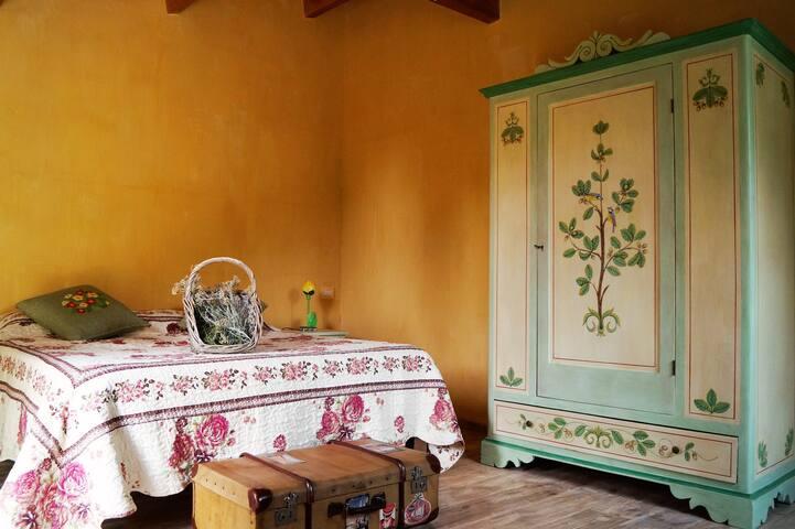 Casa in pietra tra ulivi e Alpaca - Ravignano - Szoba reggelivel