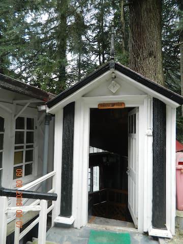 Finnish Cottage ( build on tree logs)
