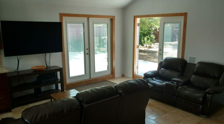 Newly remodeled private cottage studio - Sunnyvale - Huis
