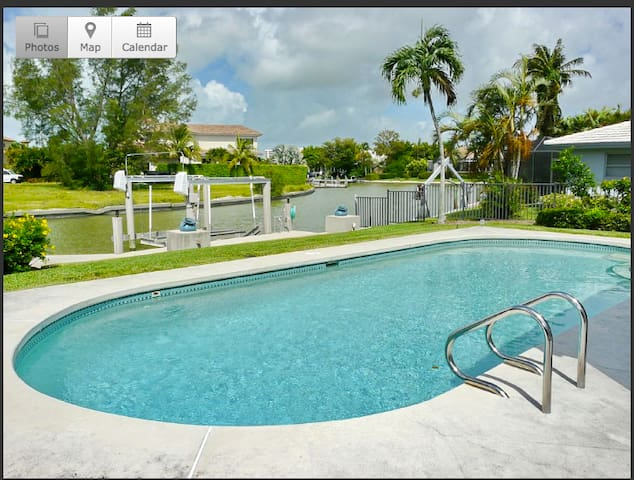 Old Marco Waterfront Pool Home