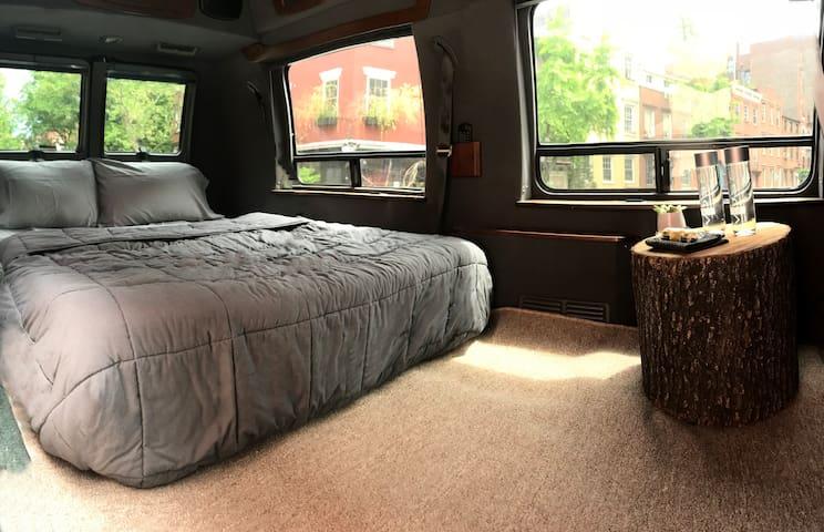 Comfy Camper Van