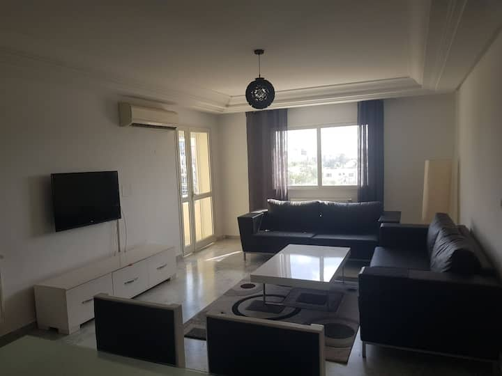 New apartment high standing 200m from the beach