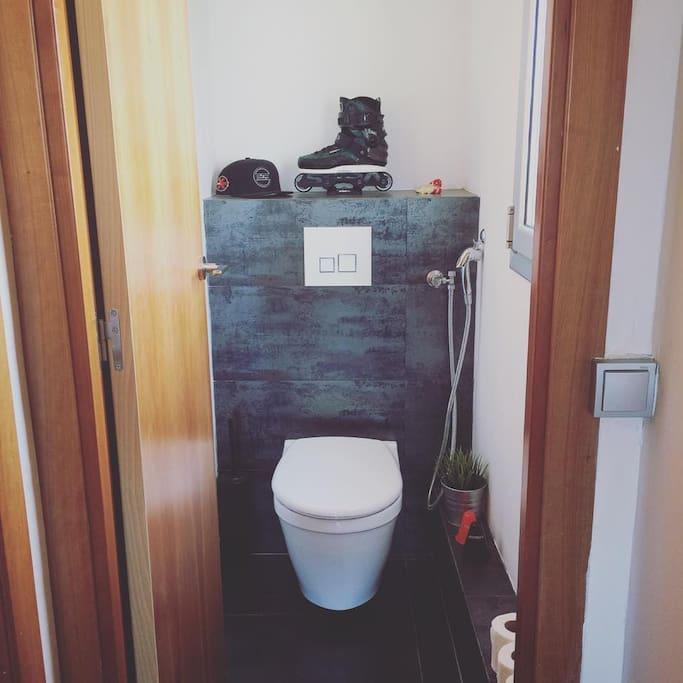 Toilet + Window