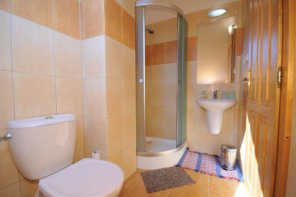 Vlastná kúpeľňa v každej izbe
