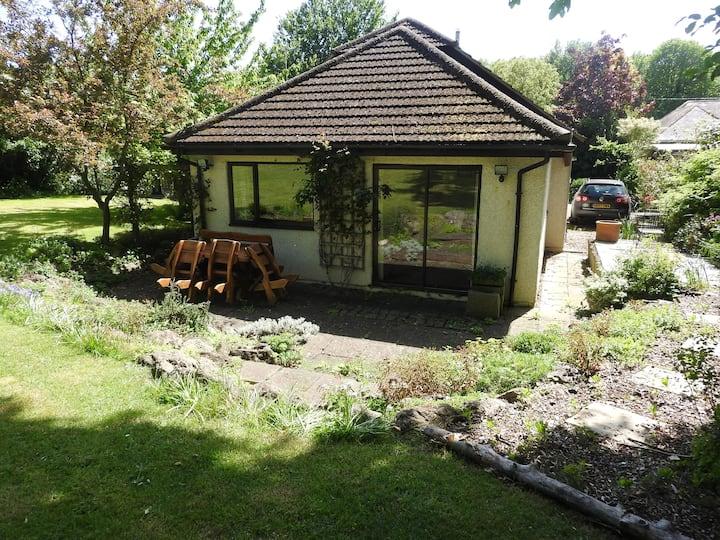 Higham Hideaway with garden view