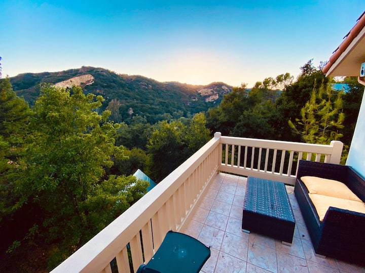 Bright, open, family home in the heart of Topanga