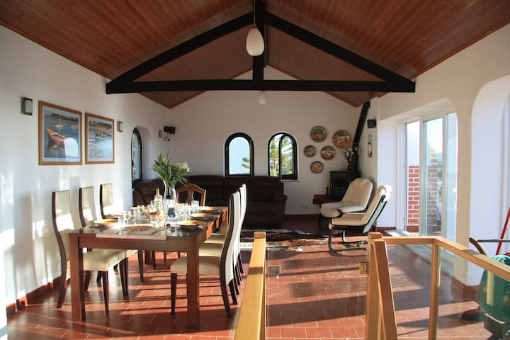 Villa with panoramic views of Obidos Lagoon - Nadadouro