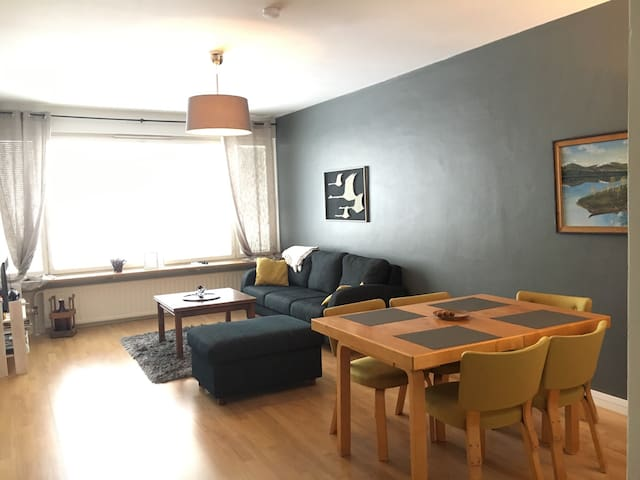 68qm cosy apartment for 4 in the city!!